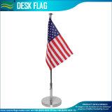 Drapeau de table, le Bureau américain de stand d'acier, Mini Drapeau (J-NF09M04002)