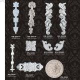 Apliques Rosetas Canto esculpida de poliuretano e Onlays hn-S046