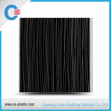Panneaux de plafond de estampage chauds de PVC de salle de bains de PVC de revêtement imperméable à l'eau de mur