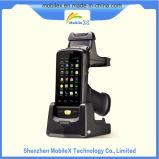 Colector de datos Handheld con el OS androide, programa de lectura del código de barras, programa de lectura de RFID