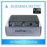 2 DVB T2/C + H. 265 Kodi 선수 Zgemma H5.2tc와 가진 DVB S2