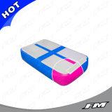 Spoor Airblock van de Lucht van de Kleuren van de FM het Verschillende Opblaasbare Tuimelende voor Gymnastiek