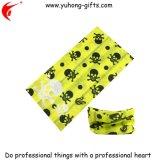Foulard giallo cuoio UV della sciarpa per gli sport (YH-HS089)