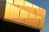 Panneaux composés de cuivre pour le mur