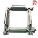 Profili di alluminio/di alluminio dell'espulsione per la casella del blocco per grafici della saldatura di taglio del laser