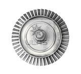 Turbina del pezzo meccanico della parte della turbina di Ulas del pezzo fuso di investimento della parte del pezzo fuso del disco Td1 della turbina