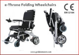 O trono Leve e dobrável para cadeiras de rodas eléctricas portáteis
