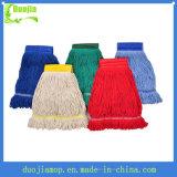 Planta de limpieza mopa de algodón húmedo cabeza