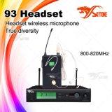 Système sans fil de microphone d'écouteur de Slx 93