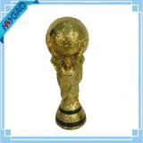 Trophée fantastique de trophée de football fantastique Trophée résine d'or Trophée Soccor