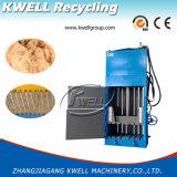 Máquina de empacotamento vertical da fibra/máquina hidráulica da prensa de empacotamento da prensa/lãs