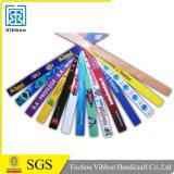 Изготовленный на заказ Wristband сатинировки ткани случая