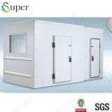 Preço unitário de Refrigeration do quarto frio com porta e painéis