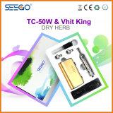 Seego patentierte trockenen KrautVaporizer Vhit King+Tc-50W Installationssatz mit sehr großem Dampf