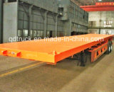 2 Semi Aanhangwagen van de Container van de Aanhangwagen van de as 40FT Flatbed Semi
