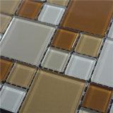Плитка стены мозаики ванной комнаты искусствоа декоративного строительного материала стеклянная