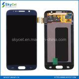 Tela de toque cheia do indicador do original S6 LCD para Samsung S6 LCD