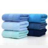 超中国の工場贅沢によってカスタマイズされるカラー綿の浴室タオル
