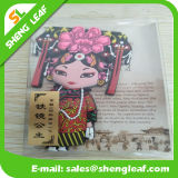 Princesa Fridge Magnet Soft Rubber hecho en China y palabras inglesas