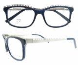 Blocchi per grafici rotondi della montatura per occhiali di vetro ottici di Eyewear di modo