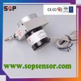 Sensore lineare elettronico del righello della corda di tiro per macchinario idraulico