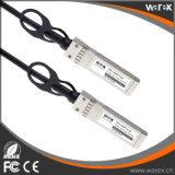 cobre direto 10m do anexo 10G SFP+ do Ative compatível dos 10m (33FT) Huawei SFP-10G-AC10M