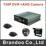 4channel Taxi Bus DVR 720p 4G Blackbox Car DVR Kit