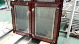 Ventana de aluminio con MID-Pane y persianas de partición