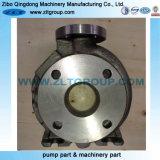 Sable Cast centrifuges Casings Pompes à eau avec la machine d'usinage 3X4-13 avec en acier au carbone