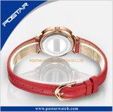 Vigilanza resistente fragile del quarzo dell'acqua della fascia della fabbrica della vigilanza sottile del braccialetto