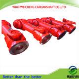 Hirthの鋸歯状の接続が付いている高性能SWCのCardanシャフト