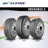 Neumático de camión de remolque radial Aufine (385 / 65R22.5 con alcance, etiquetado)