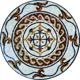 벽 아름다운 모자이크 패턴이 순수한 손에 의하여 Sicis 모자이크에게 했다