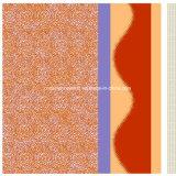 100%pigmento de pintura de areia de poliéster&Dispersar tecido impresso para o conjunto de roupa de cama