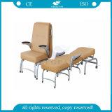 AG-AC005 호화스러운 PVC 가죽 매트리스 내과 환자는 의자를 동반한다