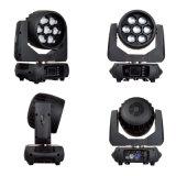 Mini7*40w LED beweglicher Kopf DJ waschen Lichter für Stadium