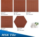 Mattonelle di ceramica della prova umida di terracotta rossa