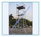 維持のための安全なSGSのアルミニウム足場の移動式タワー
