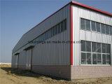 Costruzione prefabbricata del magazzino della fabbrica/ponticello/workshop/Carport/mostra/struttura d'acciaio villa/dell'hotel
