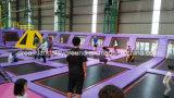 Centro de interior del juego del parque del trampolín de la venta caliente de calidad superior para los niños