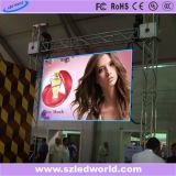 Hotsale Innen-/im Freien farbenreiche Miete druckgegossenes LED-Bildschirm-Panel für das videowand-Bekanntmachen (P3.91, P4.81, P6.25)