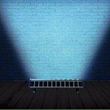 Luz ao ar livre do quadro de avisos da arruela solar nova da parede do projeto para o lugar público com FCC do Ce