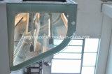 Refrigerador dianteiro aberto do supermercado vertical com cortina de ar