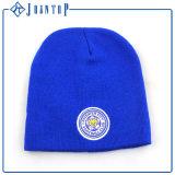 方法冬の帽子の帽子はとのロゴを刺繍する