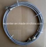 """Tubo flessibile ad alta pressione dell'acciaio inossidabile di SAE 100 R14 3/16 """" PTFE/Teflon"""