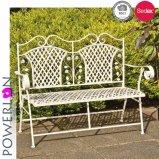 Hermoso blanco mesa de jardín con silla Paito Set