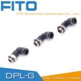 Pl Pneumatische g-Draad Montage met Vernikkeld en O-ring Pl8-02