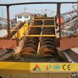 Capacidad grande de la arandela espiral funcional de la arena
