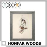 Frame de retrato do frame do certificado da madeira contínua A4 para a HOME do escritório