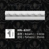 Unité centrale découpant le moulage décoratif Hn-8207 de longeron de présidence de corde de moulages de corniche